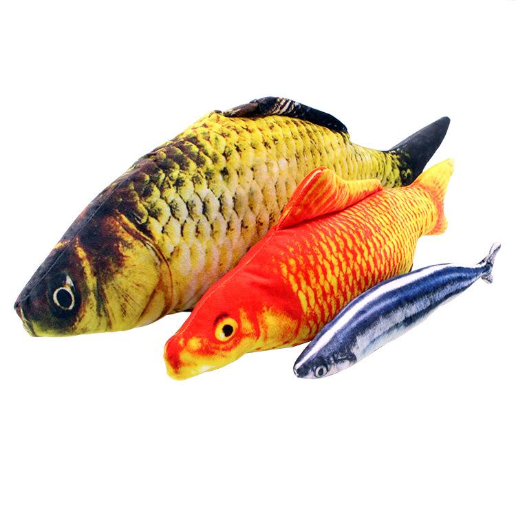 Mewah Daun Mint Ikan Hewan Peliharaan Kucing