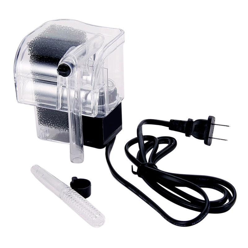 Mini Aquarium Fish Tank Power Filter Water Pump Slim Circulation External - intl