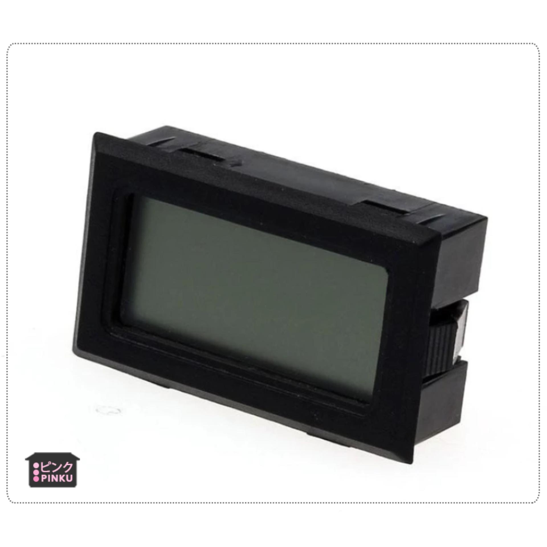 Mini Digital Lcd Thermometer Humidity Meter Gauge Temperature Hygrometer Black - intl