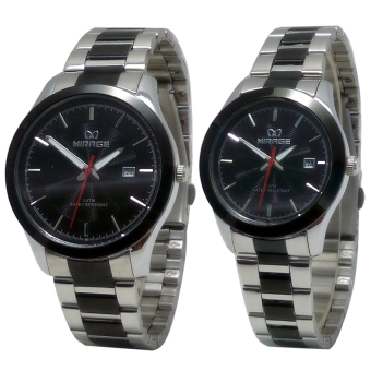 Mirage - Jam Tangan Couple - Stainlesss Steel - MRG 715 Couple
