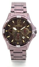 Mirage Jam Tangan Pria Original 8381 BRP - M - Date Brown
