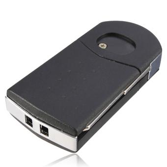 ... Moonar 3 tombol remote kunci pisau lipat sandal kulit yg belumdiasah untuk memperdaya Mazda 2 3 ...