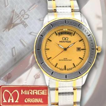 Flash Sale MRG 7406 BRP-M Jam Tangan Pria Original Stainless Steel Strap Periksa Peringkat