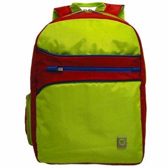 15 inch Bonus Bag Cover - Hijau. Navy Club Tas Ransel Laptop .