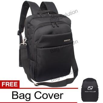 Navy Club Tas Ransel Laptop Tahan Air 5880 Backpack Up to 14 inch - Tas 3