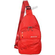 Navy Club Tas Selempang Travel - Tas Punggung - Sling Bag 5528 - Merah