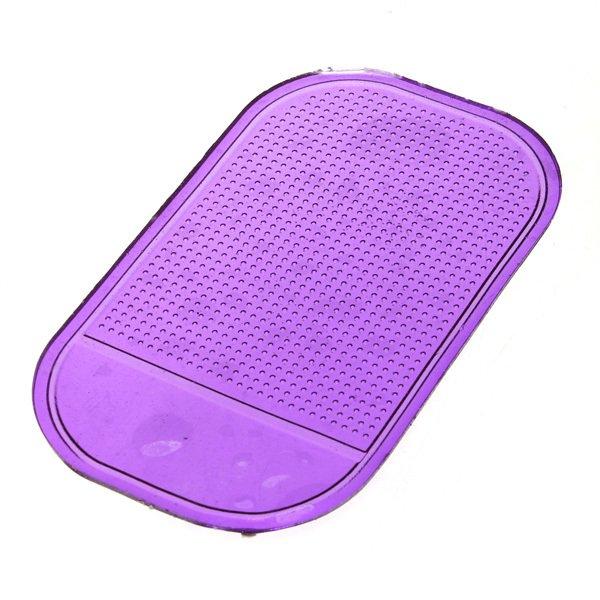 NEW anti Slip Pad Non Slip Dashboard mobil lengket karpet warna acak pengiriman .