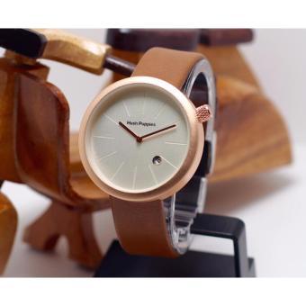 New Edition Jam tangan wanita Casual dan Exclusive Hush-puppies-Leather  Strap - stainless 1ac36c14d6