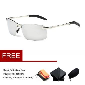 Baru Polaroid Sunglasses Pria Terpolarisasi Mengemudi Kacamata Matahari  Mens Sunglasses Designer Fashion-Intl 8301bb3ef8