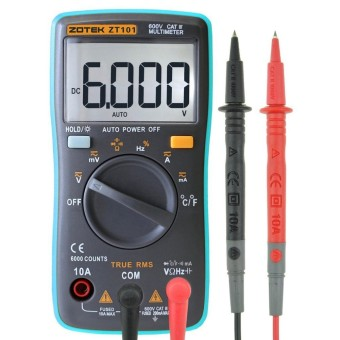 NiceEshop Portable Auto-Mulai Digital Multimeter-Internasional