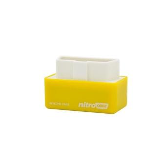 Nitro OBD2 Chip Tuning Kotak Bekerja untuk Bensin Mobil Bensin Kendaraan Kuning-Intl