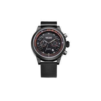 Niudun MEGIR sports personality waterproof watch fashion movementquartz watch men watch male watch Switzerland 2001 (black)(Not Specified)(OVERSEAS) - intl
