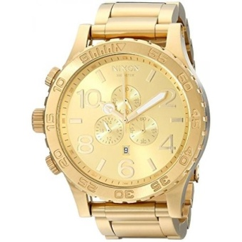 Nixon Mens 51-30 Chrono All Gold Watch - intl