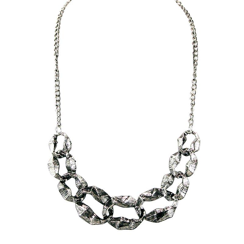 Flash Sale Ofashion Aksesoris Kalung XX-CA-1706K104 Xuping Jewelry NecklaceAccessories - Silver Silver