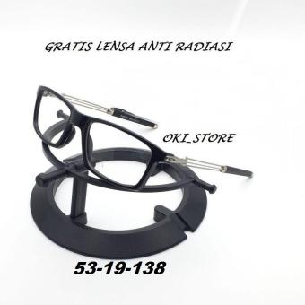 Oki Store Frame Kacamata Sporty FULL Normal   Baca   Plus   Minus    Cylinder Anti Radiasi aa7afe689f