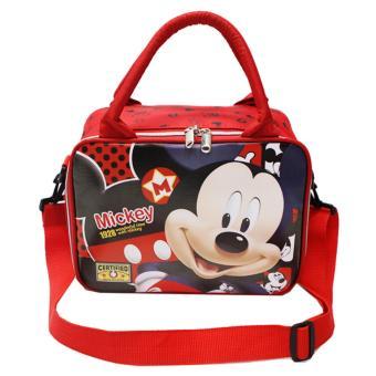 Onlan Tas Travel Bag Mini Karakter Anak Tali Selempang Bahan Kain Sponge Tahan Air