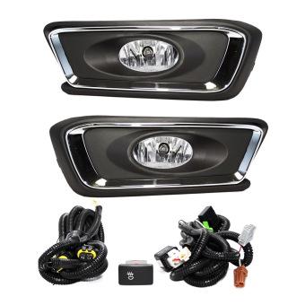Autofriend Lampu Fog Lamp Honda Mobilio 2014 Kabut Aksesoris Mobil Modifikasi - AI-HD523