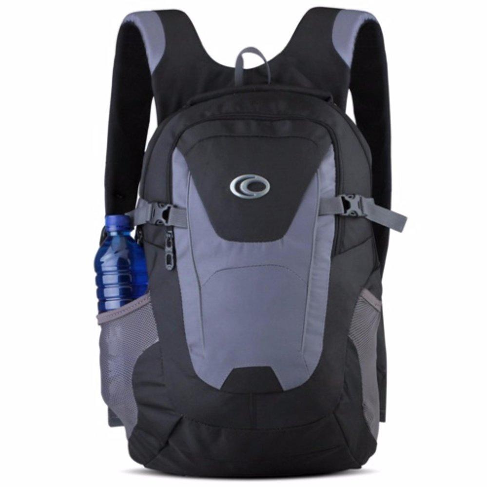Ozone Laptop Backpack 155 + Raincover - Hitam Abu
