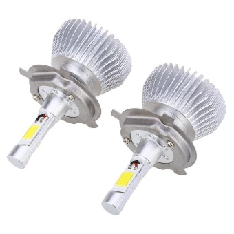 Paired C6 H4 60W LED Automobile Headlight Vibration Resistance - intl