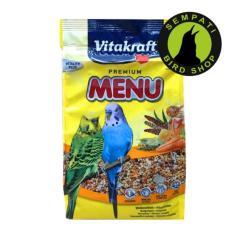 Pakan Burung Lovebird Murai Premium Budgies Vitakraft 500 Gr
