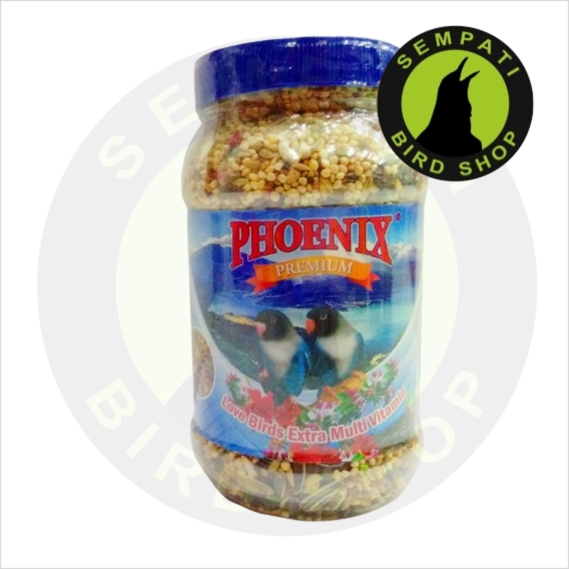 Pakan Burung Lovebird Premium Extra Phoenix