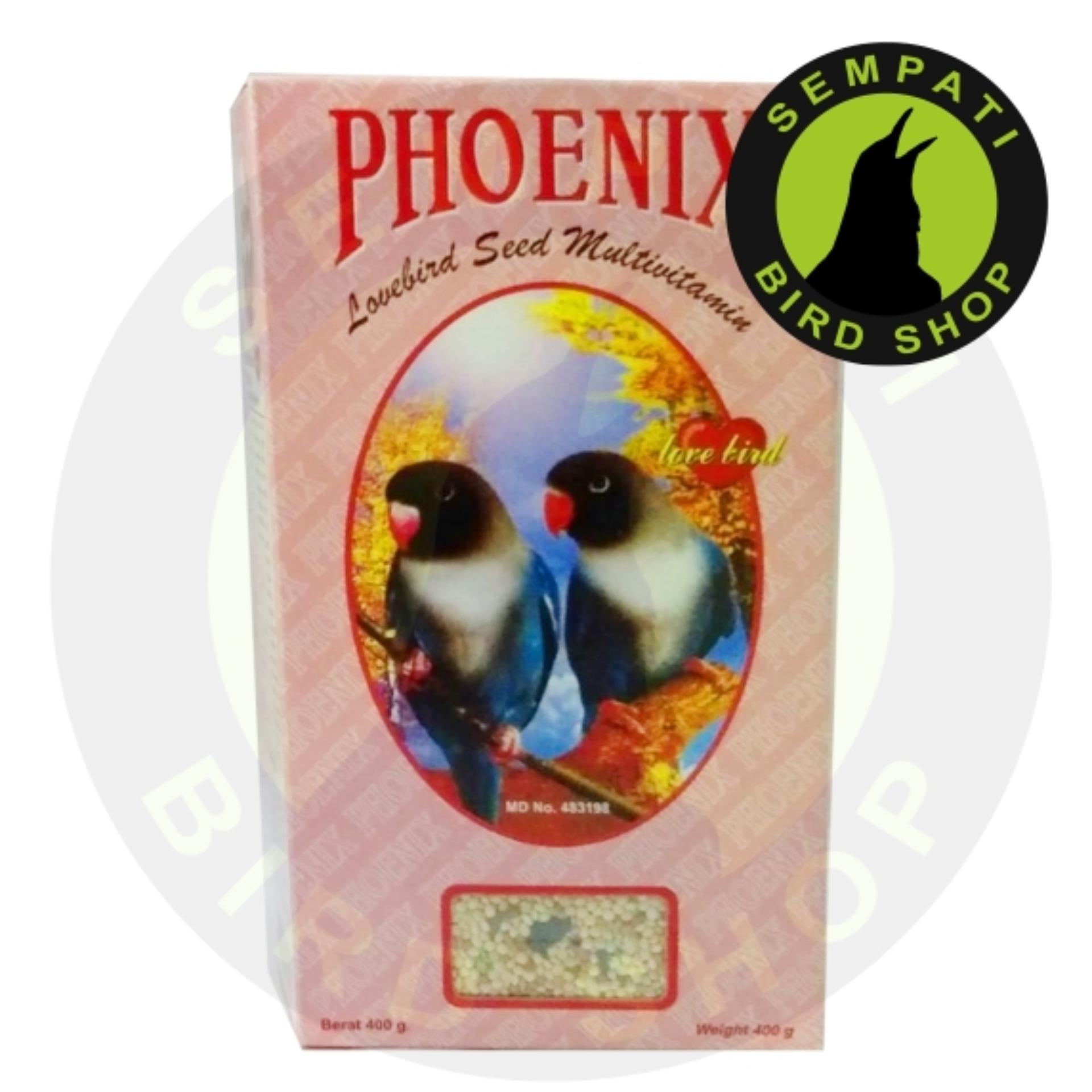 Flash Sale Pakan Burung Lovebird Seed Multivitamin Phoenix