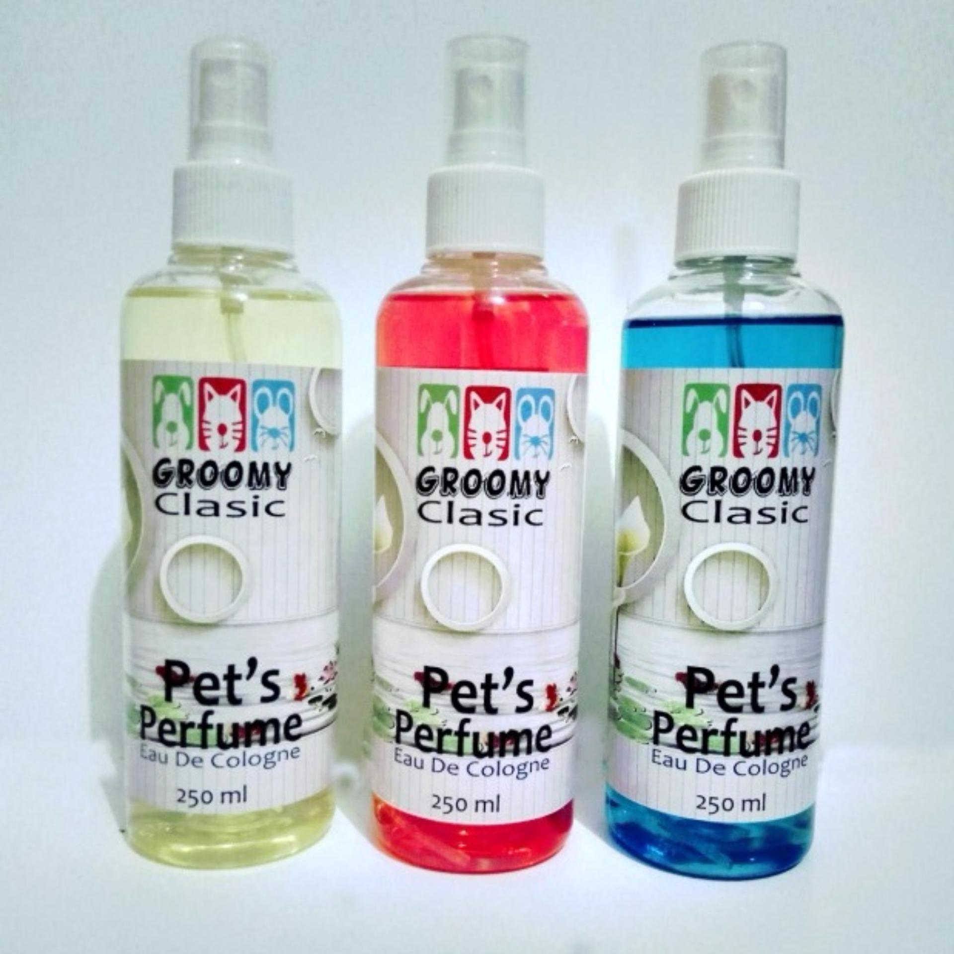 parfum grooming hewan kemasan besar 250 ml