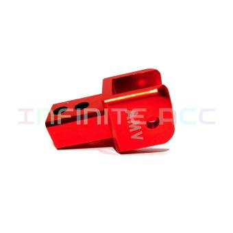 Peninggi Shock Matic Tebal Merah - 2