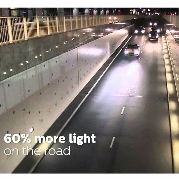 ... Philips White Vision H4 60/55 Watt / Lampu Halogen Mobil 4300K - Putih ...