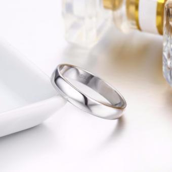 Pinannie asli putih berlapis emas 925 perak cincin wanita dan pria - 3