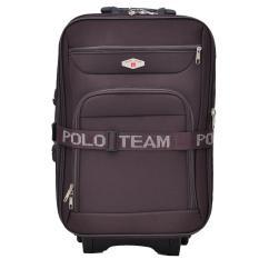 Polo Team Tas Koper Kabin 093 - 20 inch Gratis Pengiriman JABODETABEK - Cokelat