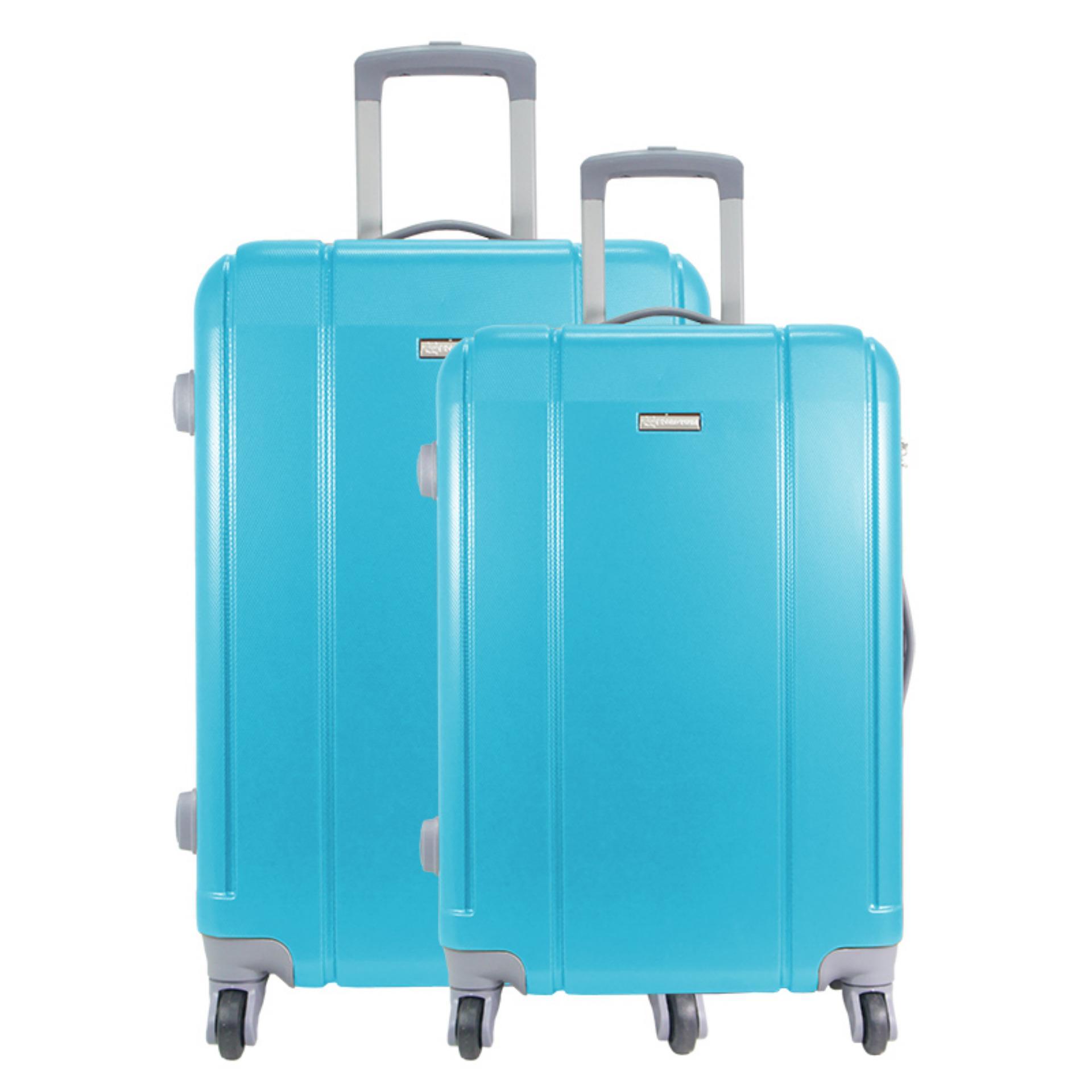 Real Polo Tas Koper Softcase Expandable 4 Roda 589 24 Inchi Coffee Passport 10121854 Twin Hd 1609 20