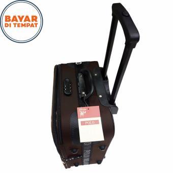 Polo Twin Koper Bahan Ukuran 20 Inchi 1301-20 Expandable Import - Coffee