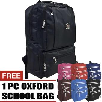 PoloClub Experia Laptop Backpack Up To 13 Inchi + FREE 1 Oxford Casual Backpack