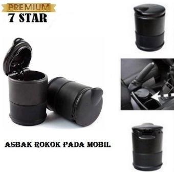 PREMIUM ASBAK ROKOK CUP HOLDER / ASBAK MOBIL CAR ASHTRAY Hitam 1Pcs