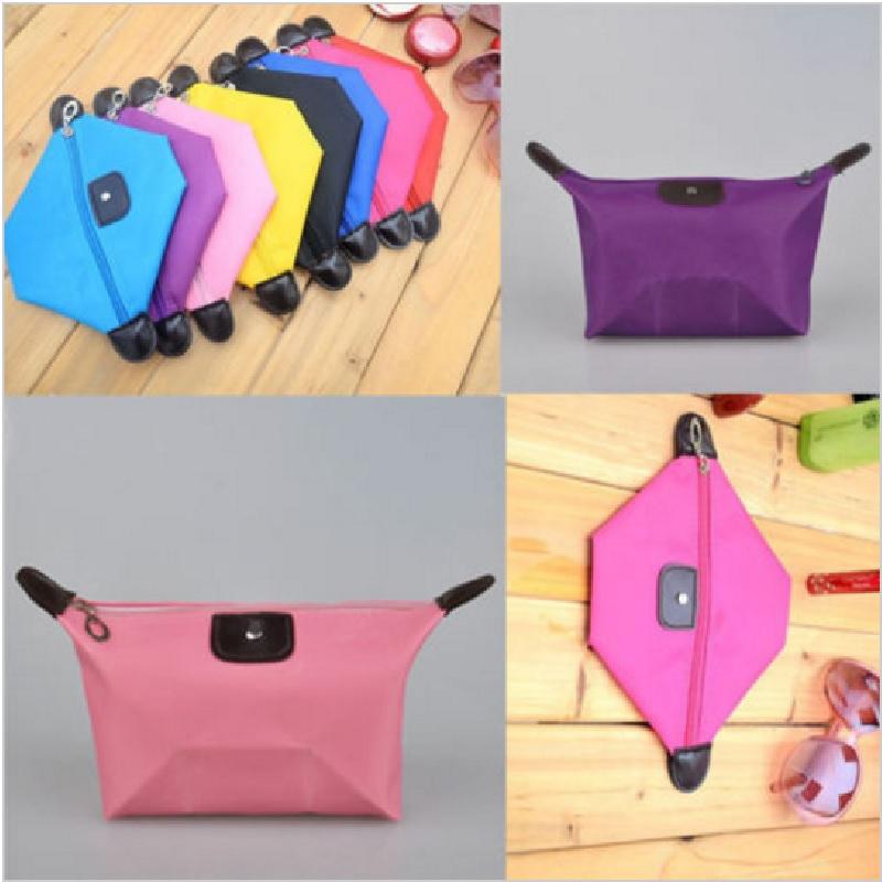 Prime Tas Kosmetik Mini - Cosmetic Bag Pouch Purse Tempat Dompet Kosmetik - Random