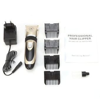 Profesional PET Trimmer Clipper Grooming Kit Rechargeable Kucing Anjing Alat  Cukur Rambut Set UNI EROPA Plug 709a12a978