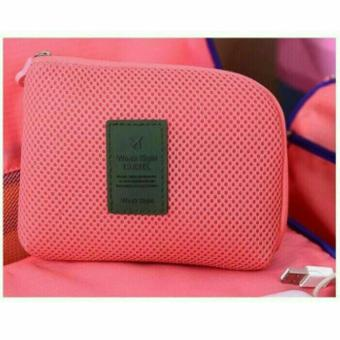 Ultimate Dompet Tas Charger Kabel Power Bank Multifungsi / Cable Poch Travel Multifungsi Big OR 81. Source · Promo Dompet Shockproof Mesh - Travel Organizer ...