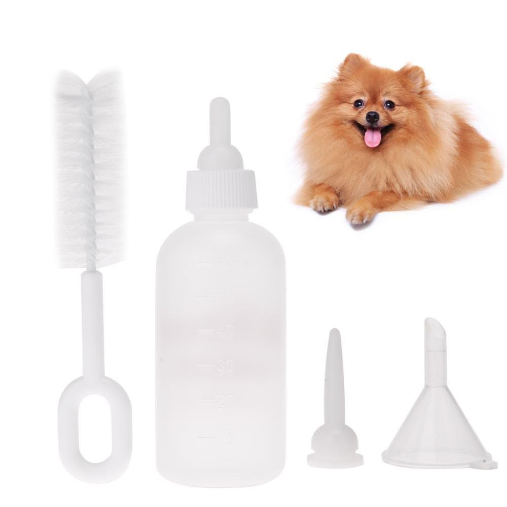 Puppy Kitten Botol Feeding Botol Anjing Peliharaan Kucing Baby Keperawatan Air Susu Feeder .