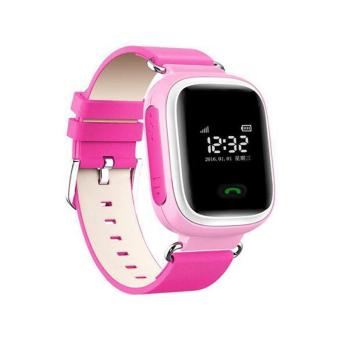 Q60 Smart Watch Tracker SOS Call Anti-lost Children for Android iOS iPhone Pink - intl