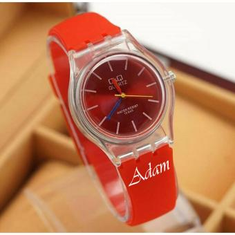Q&Q Analog - Jam Tangan Fashion Wanita & Remaja - Tali Karet Lentur - Water Resist