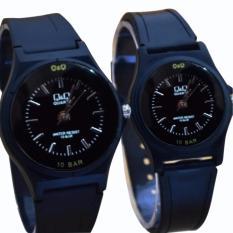 Q&Q - Jam Tangan Analog Couple - Strap rubber Produk terbaru -Elegant