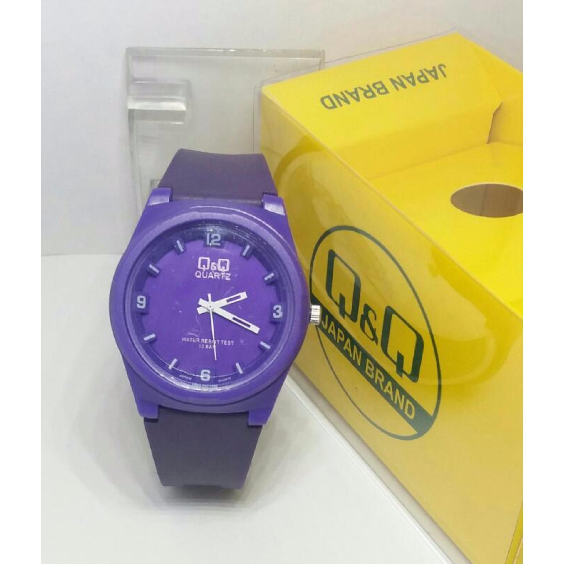 ... Q&Q Watch - QQ 010 -SR Jam Tangan Sport Wanita - Rubber Strap ...