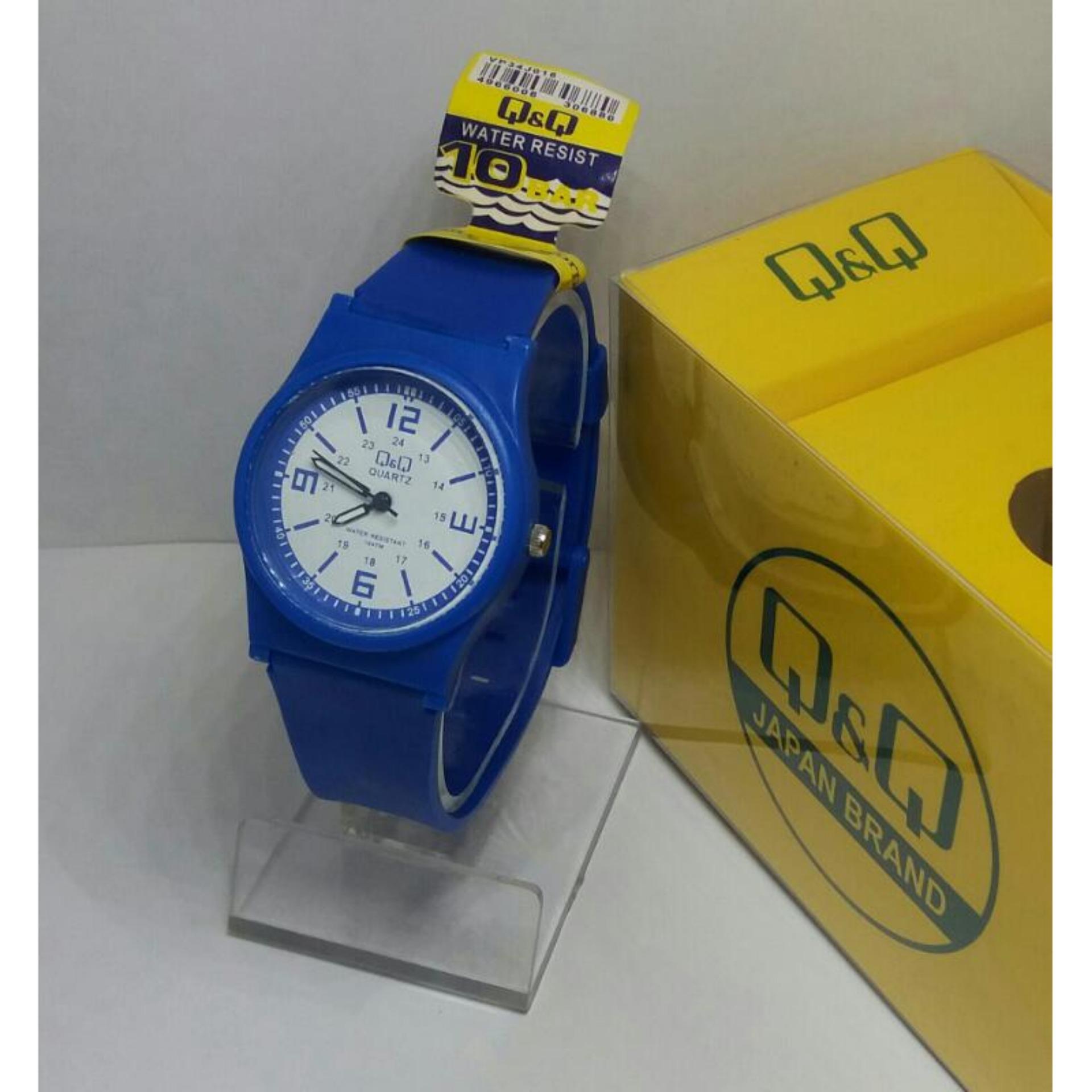 Multicolour Lihat Source · Q&Q Watch QQ009 Jam Tangan Sport Wanita Rubber Strap .