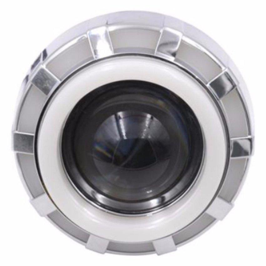 V10 4 Warna Source RajaMotor Aksesoris Motor Lampu Depan Projector LED V05 Bulat .