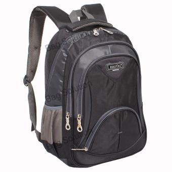 Real Polo Tas Ransel Kasual 6369 Backpack Daypack - Hitam
