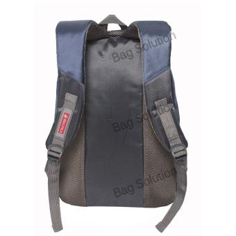 Real Polo Tas Ransel Kasual 6372 Backpack Daypack - Biru