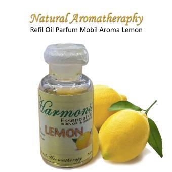 Refil Oil Parfum Mobil Aromaterapi Aroma Lemon Unt Humidifier Diffuser Usb