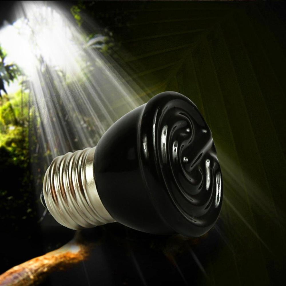 REPTILE HEAT LIGHT 80W Day Night Amphibian Bird Snake Lamp Basking - intl