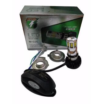 harga RTD - Lampu Motor Mobil LED 6 Sisi 35W H4 Hs1 H6 AC/DC 6000k Lazada.co.id